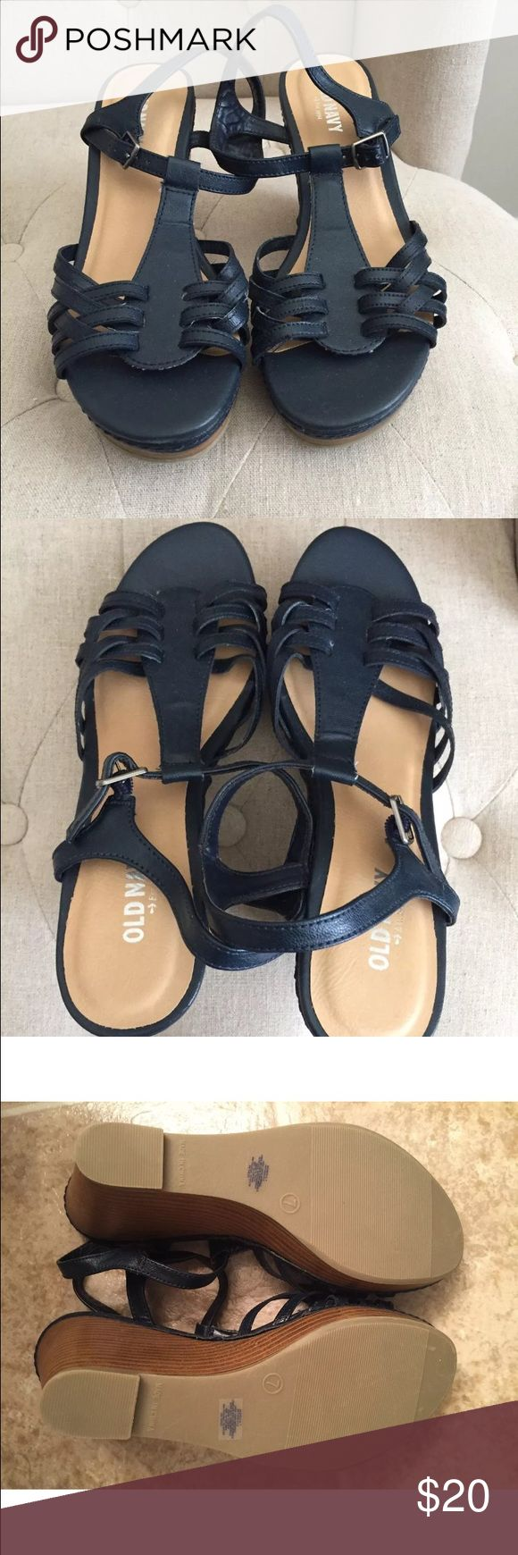 Ladies wedge sandals New, never worn only tried on. Shoes Wedges