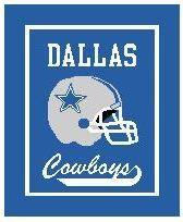 Dallas Cowboys Crochet Afghan Graph Pattern DOWNLOAD - CitiUSA