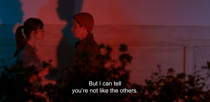 """― Comet (2014)""""But I can tell you're not like the others."""""""