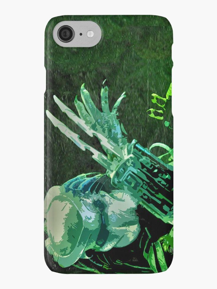 Predator Movie Poster  iPhone Case. #iphonecase #iPhone #predator #movies #moviegifts #monster #cinema #cinemamonsters #predatormovie #gifts #technologygifts #gadgets #mobileaccessories #phonecase #redbubble