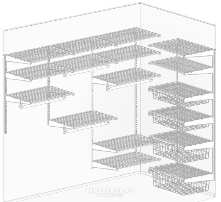 Металлические системы хранения (аналоги ELFA) - фото- Форум Mastergrad