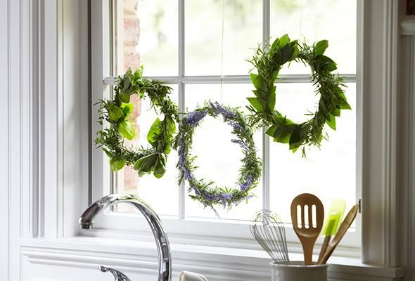 Functional Fresh Herb Wreath                                                      Reviews      Coupons                                                       ...