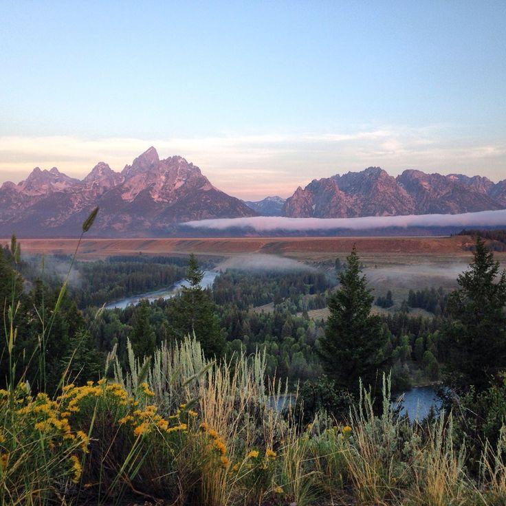 The kind of view that can change you - Tetons