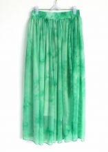 Green+Elasic+Waist+Chiffon+Skirt+$30