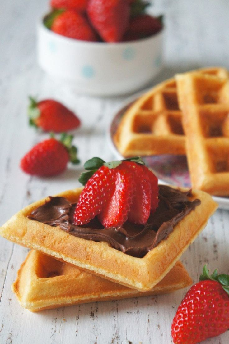 Waffle crocante | Flamboesa