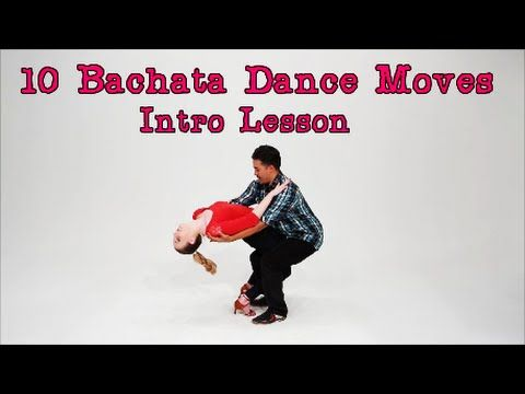 10 Bachata Dance Moves / Intro lesson for Beginners / How to Dance Bachata Geno Garcia - YouTube