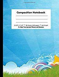 composition notebook 4x4 graph paper sunrise 2 design composition