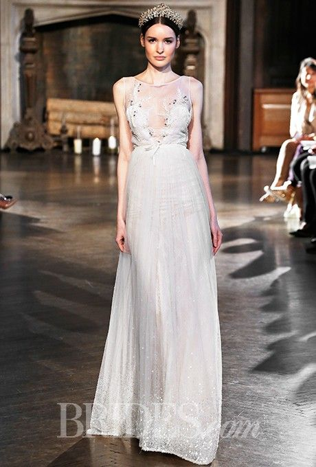 Inbal Dror - Fall 2015 #wedding #sheer #wedding_dress #bridal_gowns #bride #fashion #gorgeous