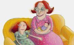 A vovó virou bebê: livro para criança sobre a doença de Alzheimer