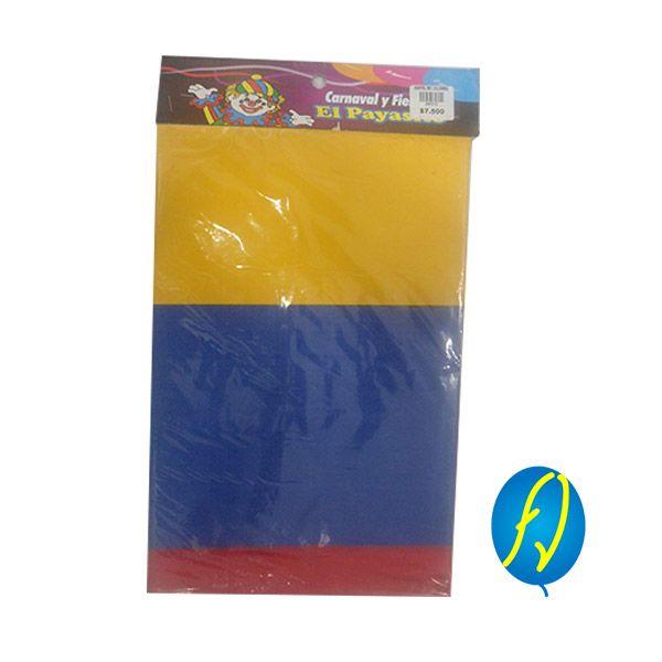 MANTEL COLOMBIA RECTANGULAR, un producto más de Piñatería Fiesta Virtual de Colombia - lo puedes ver en http://bit.ly/21d50z9. #FiestaVirtual