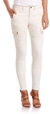 Polo Ralph Lauren Zip-Vent Cargo Pants - Shop for women's Pants - HIGHLAND CREAM Pants