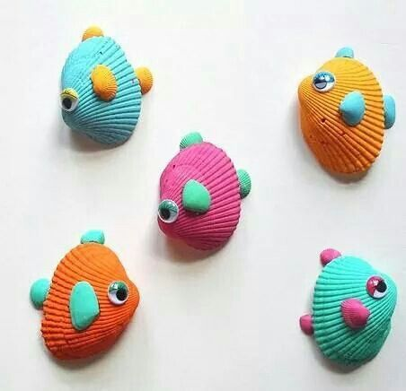 Poissons coquillages