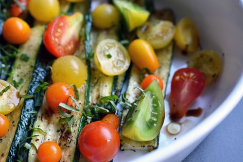 Broiling zucchini is my favorite (and easiest) way to prepare this humble vegetable. If you aren't applying high heat to it (e.g. grilling or broiling), you normally end up with a soggy mess unless...