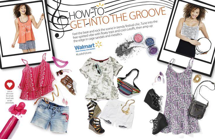 The 2015 Spring/Summer #lookbook #Walmart #Walmartcanada. #artdirection #Design #fun #Illustrations