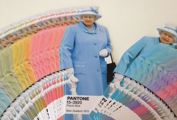 Creative Review - How to pick a colour fit for The Queen