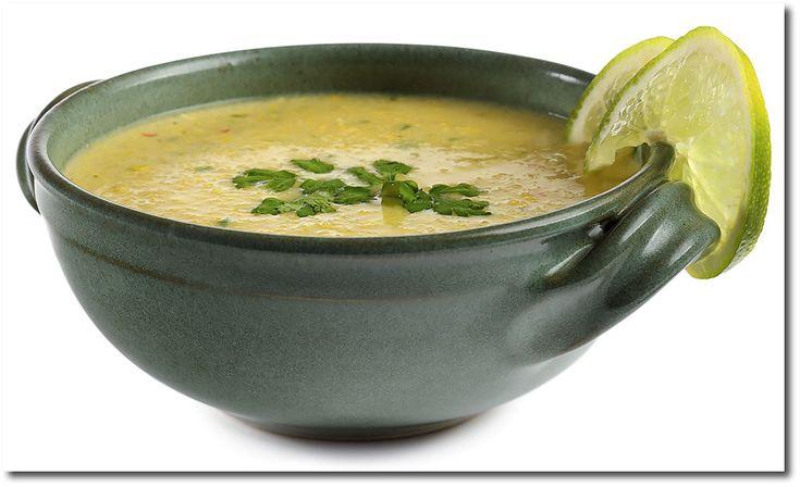 Mexikanische Mais Creme Suppe mit Koriander