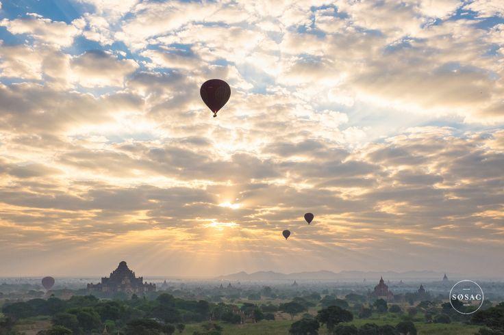 #Fujix100s #Bagan #Myanmar #Sunrise #Burma #Temples © Shane O Sullivan SOSAC Photography