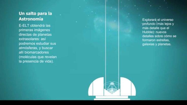 E-ELT: el telescopio óptico más grande del mundo [video infografía]~•♥•~♥ ƸӜƷ ♥~•♥•~LUZART~•♥•~♥ ƸӜƷ ♥~•♥•~