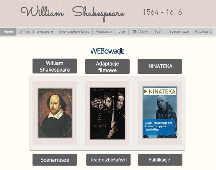 Materiały o Wiliamie Szekspirze
