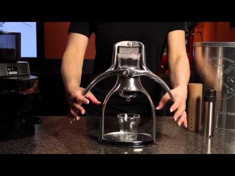 NEW! The ROK Manual Espresso Maker Very Cool