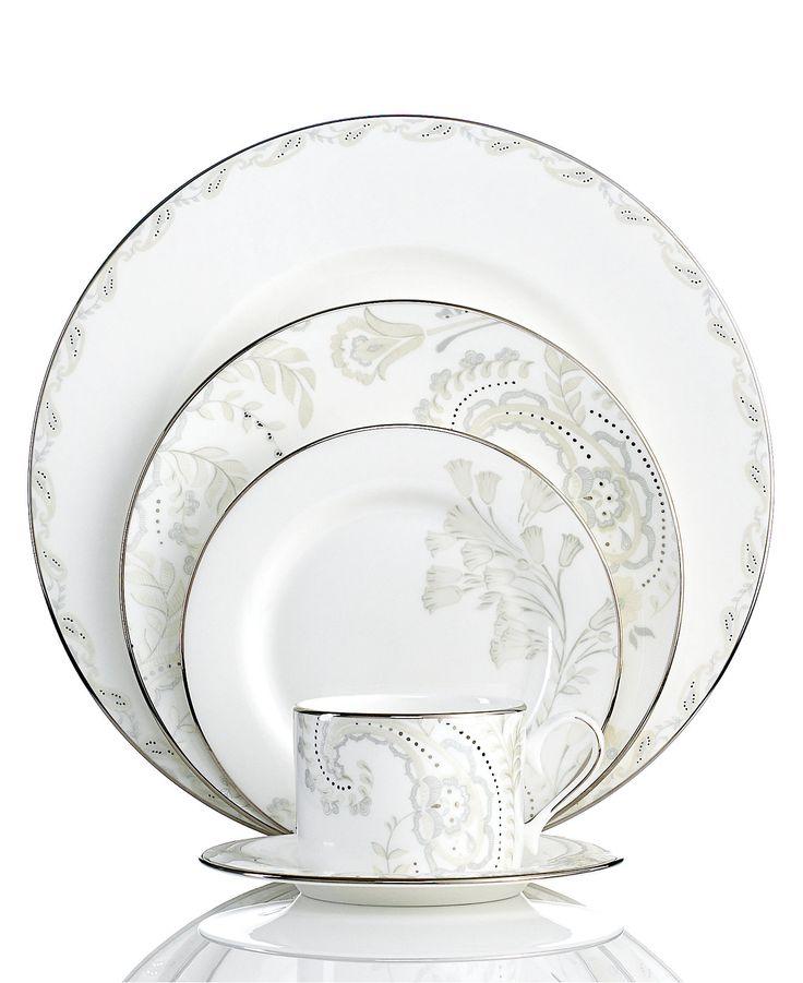Marchesa by Lenox Dinnerware, Paisley Bloom 5 Piece Place Setting - Lenox - Dining & Entertaining - Macy's