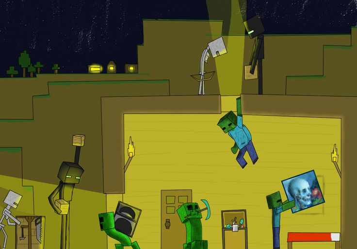 minecraft mobs | Minecraft Mob Greifers by ~DAZKO on ...