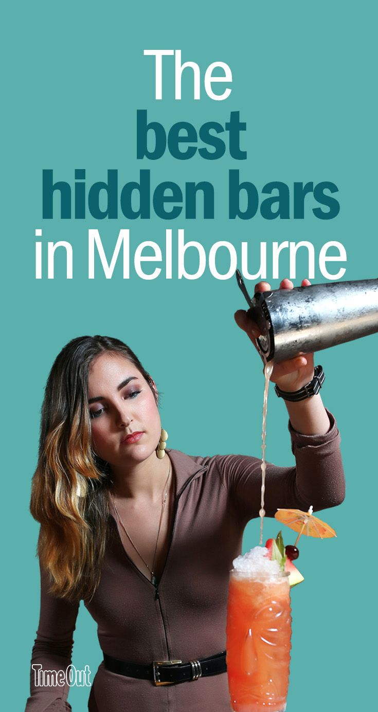 Melbourne does hidden bars like no other city