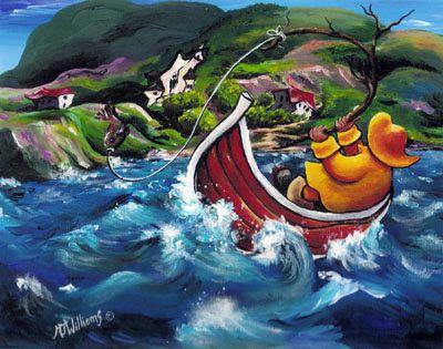 Newfoundland Art - Marie-Jose Williams Art Gallery