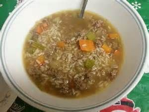 vegatable beef with rice soup - LinuxMint Yahoo Image Search Results