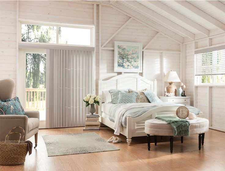 Choose Bali Real Wood Vertical Blinds to add the beauty of real wood to large picture windows and patio doors. Real wood is a beautiful choice for windows of a larger scale, but it is seldom seen because of wood's potential for warping.