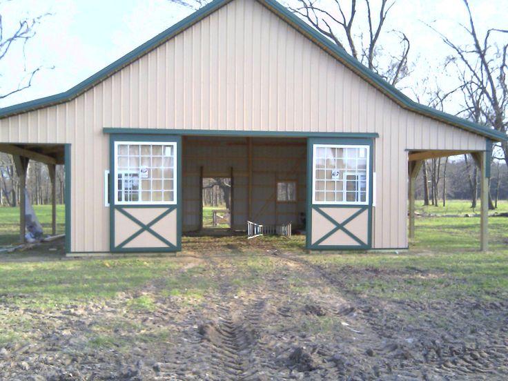 Alpaca Shed Pole Barn Small Animal Barn Loudon