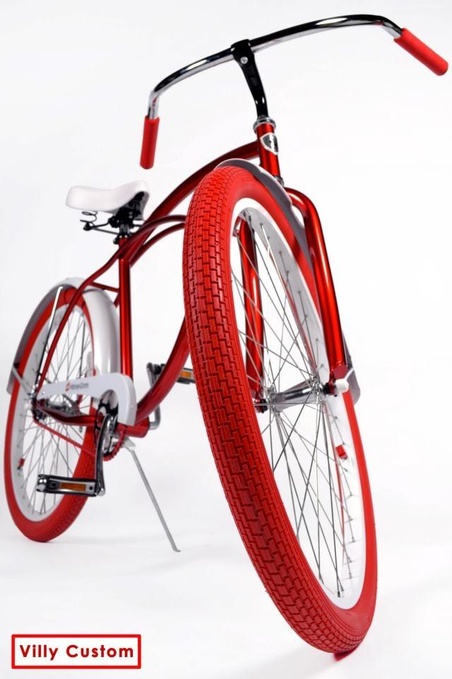 Moneygram Bike Red Bike Red Tires Red Grips Red Chain