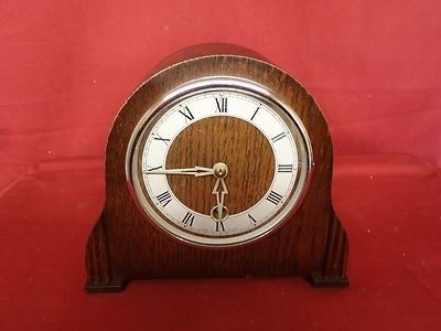 For sale is a lovely Smiths mechanical mantel clock restored to a high standard. Comes complete with pendulum and key. In full working order and is a non stricking clock.