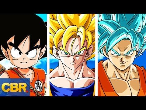 The Complete Dragon Ball Canon Timeline Explained Youtube