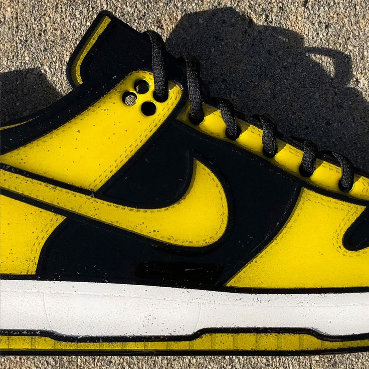 Nike created a special edition Wu-Tang Clan Friends & Family edition of the Black/Goldenrod colorway associated with the University of Iowa  one of the original seven representatives of the Nike Dunk Be True Series. The Black/Yellow colorway was selected in accordance with The Swarm a 1998 album put forth by the Wu-Tang Killa Beez  a collective of Wu-Tang members and its affiliates. The sneaker featured the iconic Wu-Tang logo embroidered on the heel and on a custom tongue label and the mere…