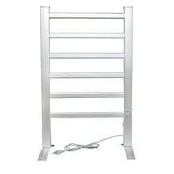 @Overstock - This Royal Elegance 6-bar towel warmer and drying rack is ideal for bathrooms or any other room in the home. Freestanding or wall mounted this warming rack dries delicates, towels, warms blankets and eliminates mold and mildew growth.http://www.overstock.com/Home-Garden/Royal-Elegance-Freestanding-and-Wallmount-Towel-Warmer-Drying-Rack/5581380/product.html?CID=214117 $77.14