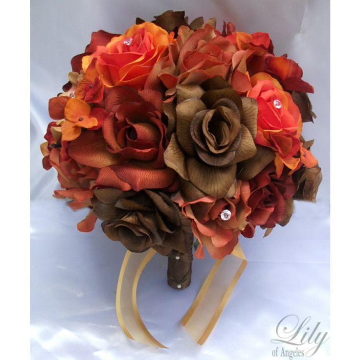 22 best Fall bridal sets images on Pinterest | Bridal bouquets ...