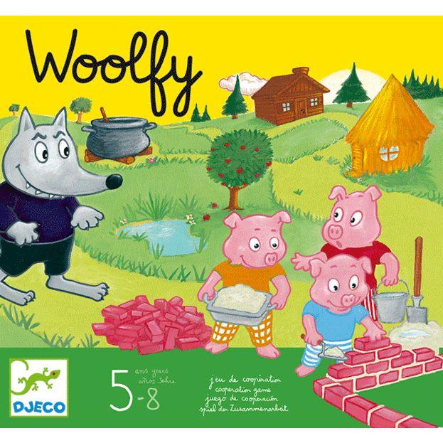 A három kismalac - Woolfy - Kooperatív társasjáték (Djeco)   Pandatanoda.hu Játék webáruház