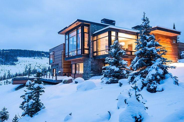 Modern Mountain Retreat by Pearson Design Group