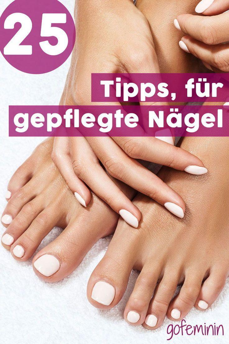 Manicure em casa: 25 dicas para unhas bonitas e bem cuidadas   – Natürliche Fingernägel | Maniküre