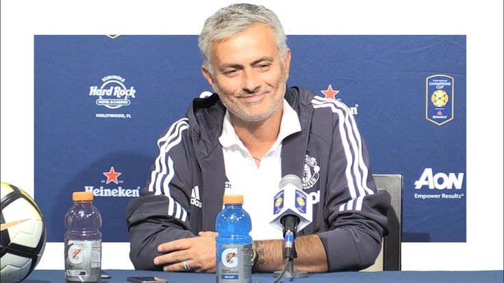 Popular Right Now  United Kingdom l Real Madrid 1-1 Man Utd (1-2 Pens)  Jose Mourinho Post Match Press Conference  Man Utd Tour 2017
