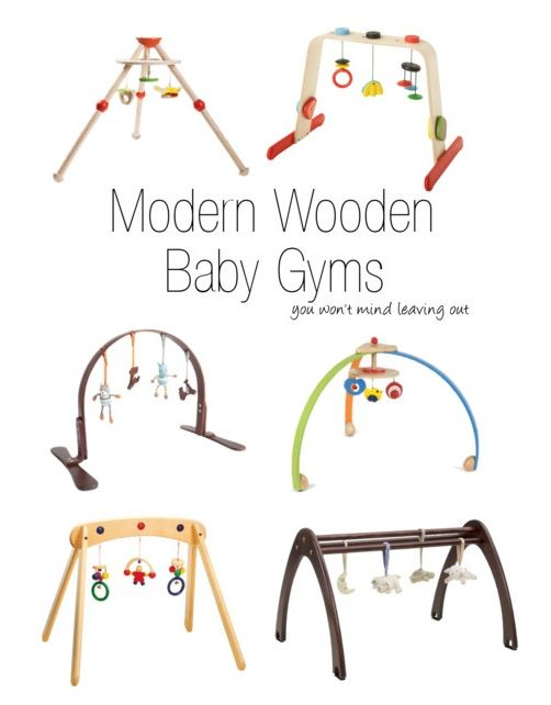 modern wooden baby gyms @Tate Hyatt !! We were talking about this at your house :]