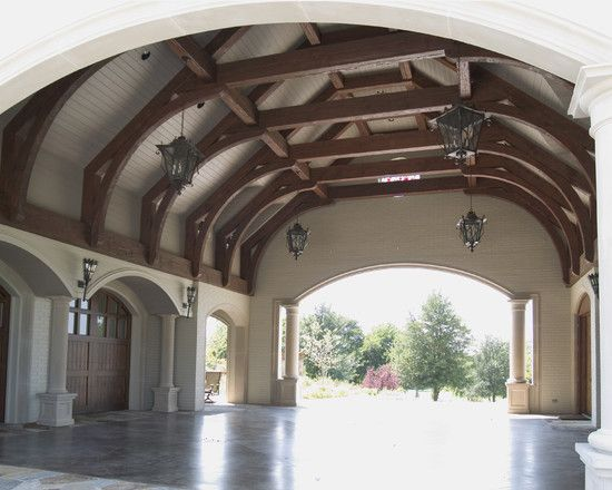 25 best ideas about porte cochere on pinterest southern for Cottage house plans with porte cochere