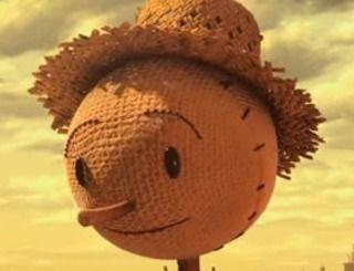 The Scarecrow (l'épouvantail). The Scarecrow, conte l'histoire d'un épouvantail comme les autres. Il travaille pour Crow Foods, société de production alimentaire détenue par des corbeaux. Leur seul but étant le profit, les poules et vaches sont gavées aux antibiotiques, et la nourriture reconstituée (vidéo réalisée par Chipotle chaine de fast-food mexicain). A VOIR SUR https://www.youtube.com/watch?v=lUtnas5ScSE