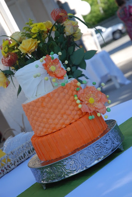 lemon green and orange wedding cake 1000 ideas about bright cakes on children 16799