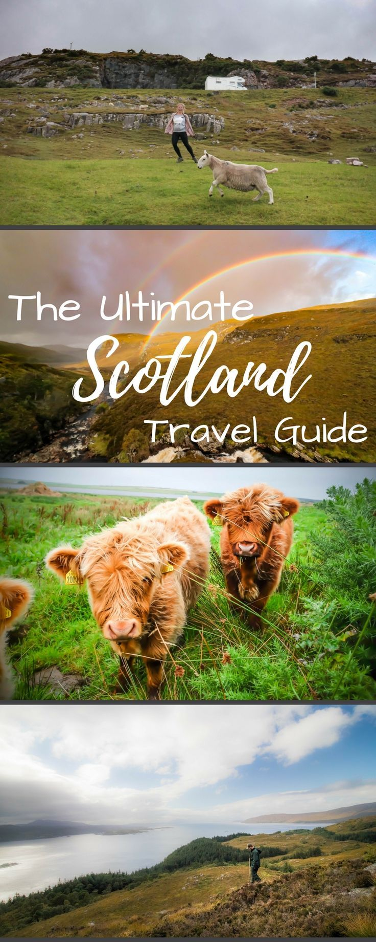 The ultimate travel guide to Scotland. Including the North Coast 500, Edinburgh, Glasgow, Falkirk, the Isle of Skye, and the Northern Highlands. Things to do, castles to see, and food to eat is all here!