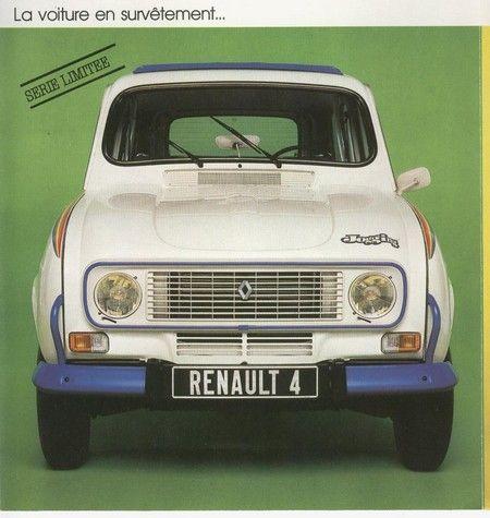 Renault 4 Jogging brochure