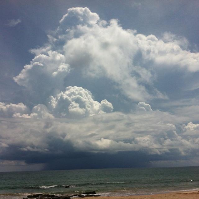 At noon @ Lanta Island, Krabi, Thailand 1 May 2012
