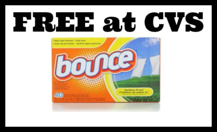 CVS - FREE 40 ct Bounce Sheets! - http://dealmama.com/2017/09/cvs-free-40-ct-bounce-sheets/