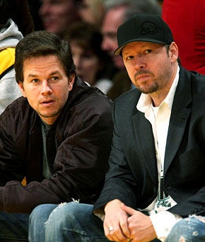 Mark & Donnie Wahlberg... OMG amazing. Their both hot, but Donnie's still my fav!!!